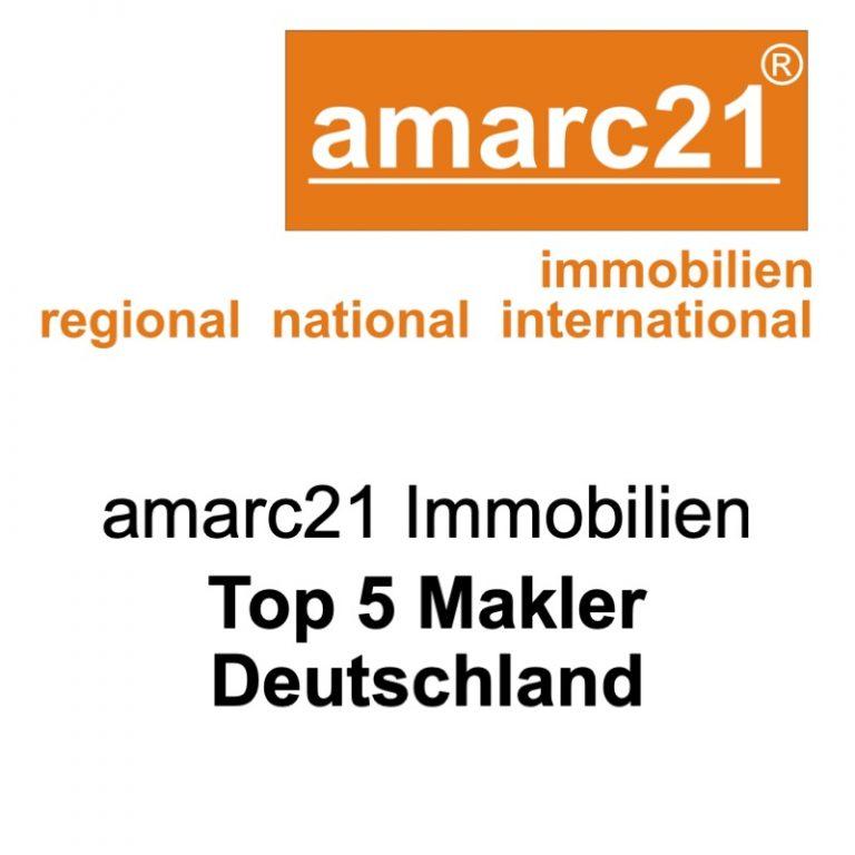 amarc21-Immobilienmakler-gehören zu den Top 5 Immobilienmaklern in Deutschland