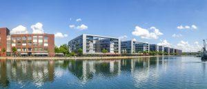 Duisburg, Hafen, Panorama