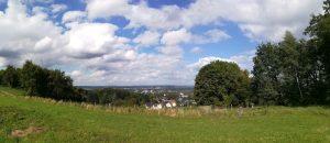Panorama Bielefeld und Wiehengebirge